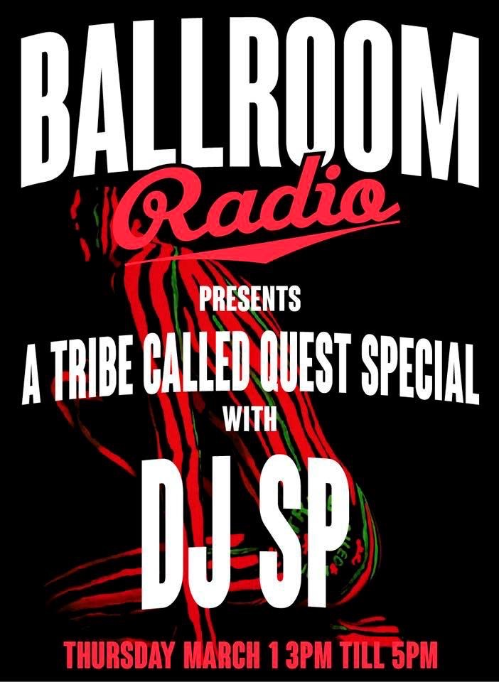 DJ SP (A Tribe Called Quest Special)